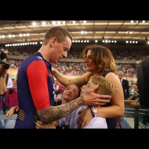 Sir Bradley Wiggins - just a kid from Kilburn - with his family! What a man and what an inspiration.
