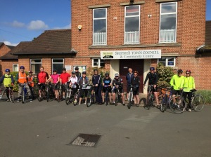 Pioneers and founding members of Shepshed Cycling Club