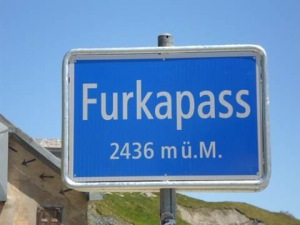 The famous Furka Pass